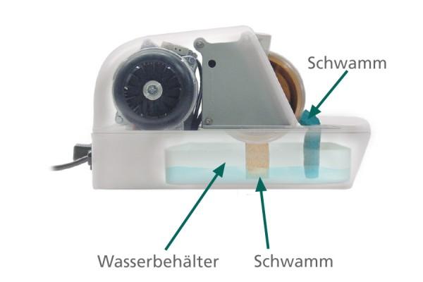 argus H34 SM Handschleifstein mit integriertem Wasserbehälter für Optiker