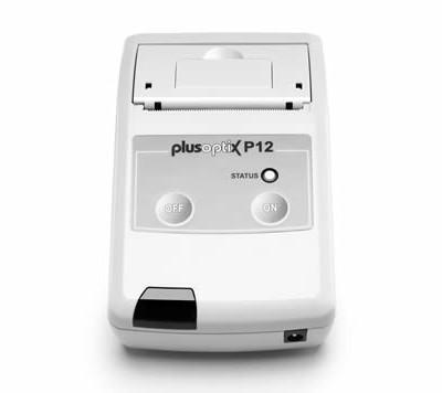 PlusoptiX IR Thermodrucker P12