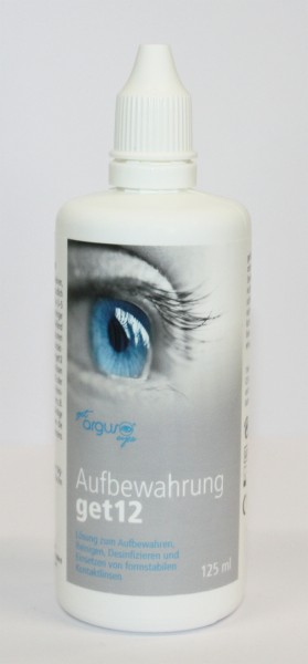 Aufbewahrung get12 10 Flaschen à 125 ml