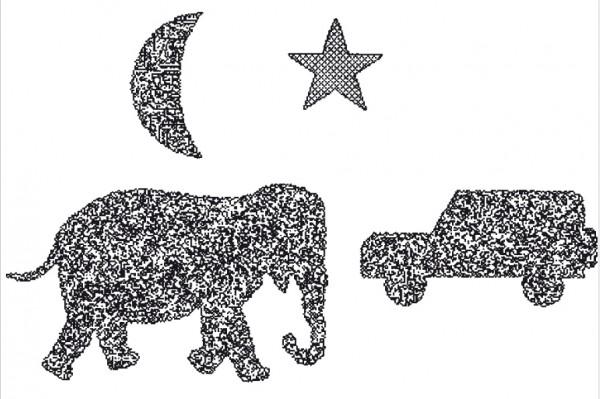 Oculus LANG-Stereotest II (Elefant)