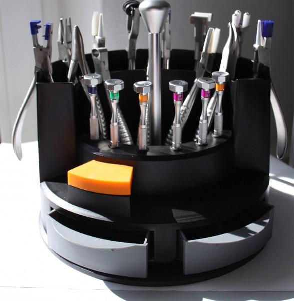 Großes Zangen- und Schraubendreher- SET für Augenoptik