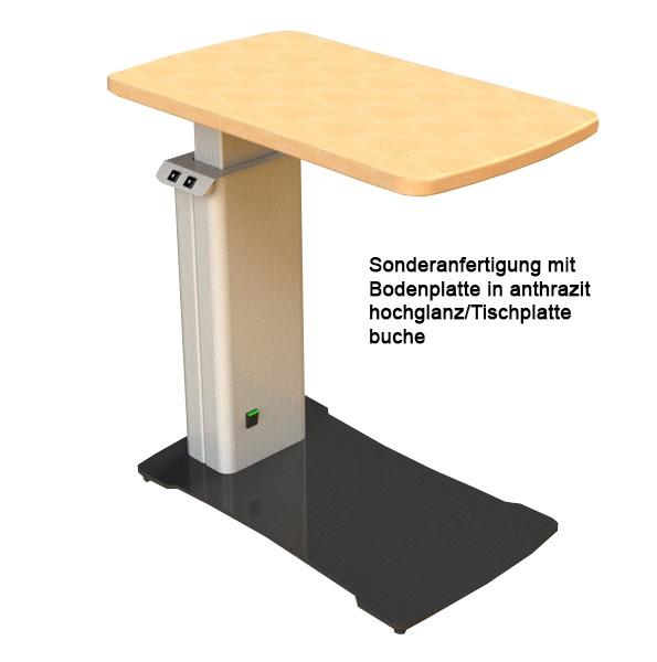 """1-Geräte Hubtisch """"ET01s"""" mit lateraler Säule"""