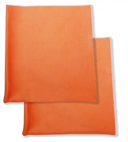 argus Brillenputztuch XXL orange